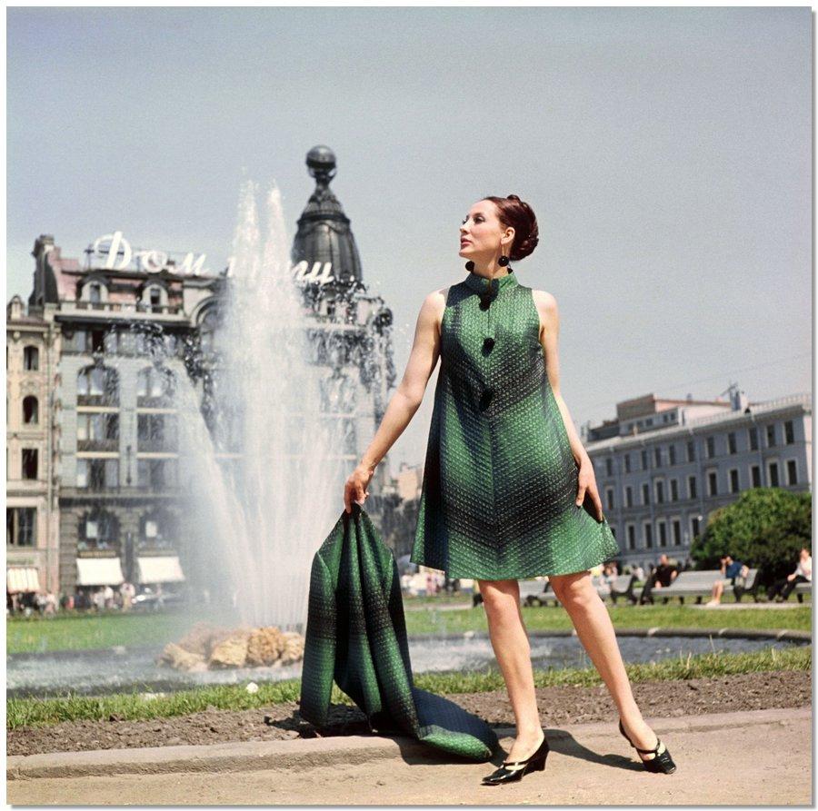 sovietfashion01 Советская мода 1960 х, 1970 х и 1980 х годов в фотографиях ЛенТАСС