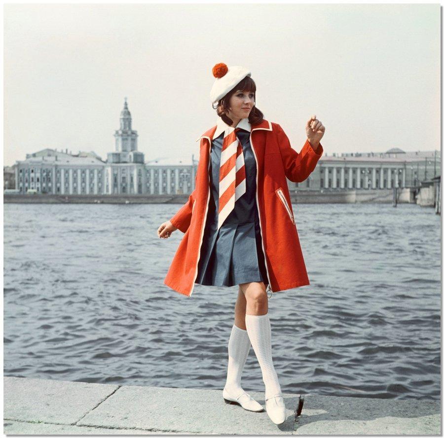 sovietfashion04 Советская мода 1960 х, 1970 х и 1980 х годов в фотографиях ЛенТАСС