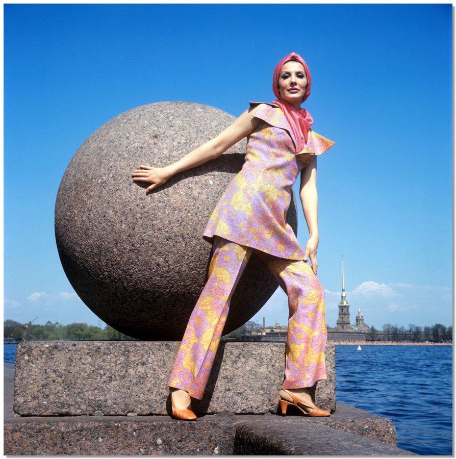 sovietfashion05 Советская мода 1960 х, 1970 х и 1980 х годов в фотографиях ЛенТАСС