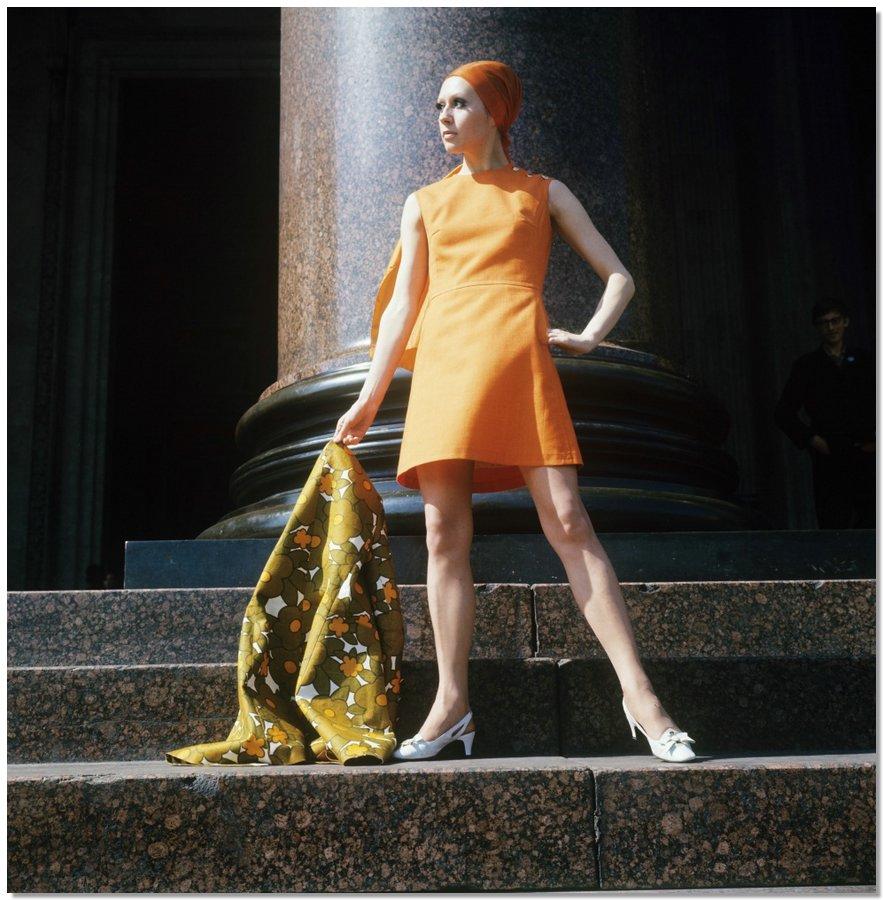 sovietfashion09 Советская мода 1960 х, 1970 х и 1980 х годов в фотографиях ЛенТАСС