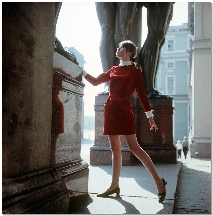 sovietfashion12 Советская мода 1960 х, 1970 х и 1980 х годов в фотографиях ЛенТАСС