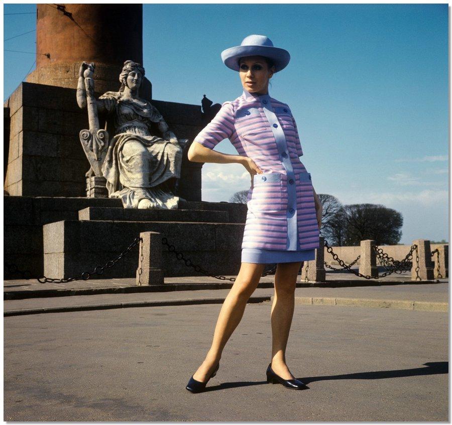 sovietfashion13 Советская мода 1960 х, 1970 х и 1980 х годов в фотографиях ЛенТАСС