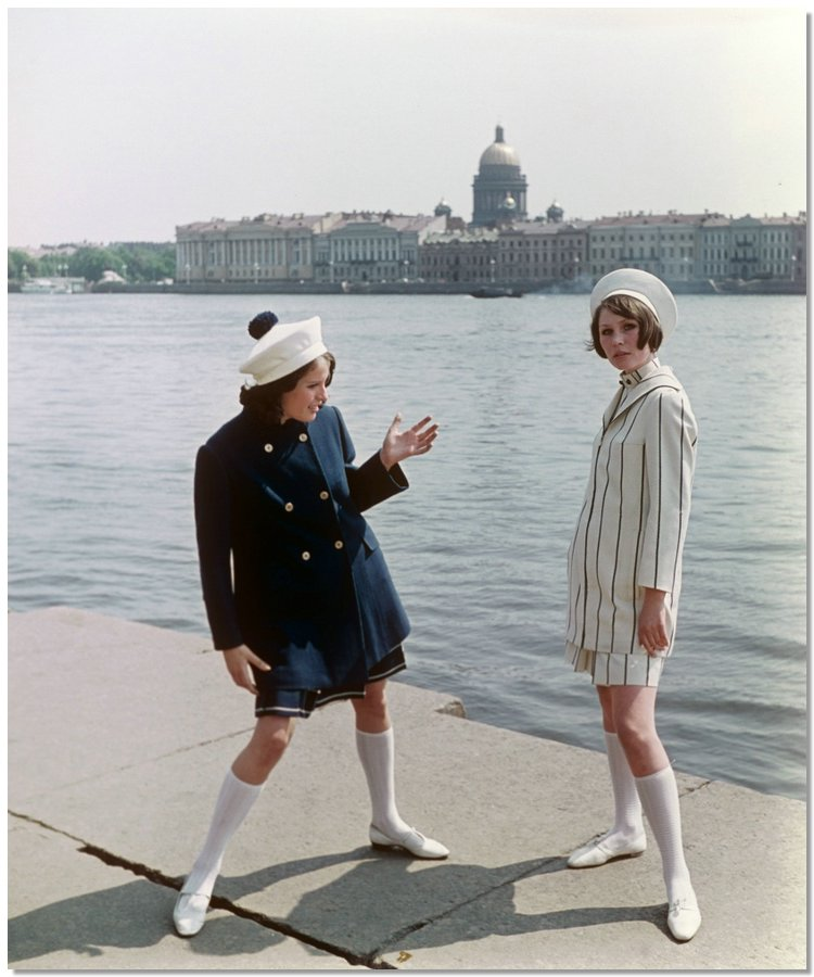 sovietfashion14 Советская мода 1960 х, 1970 х и 1980 х годов в фотографиях ЛенТАСС