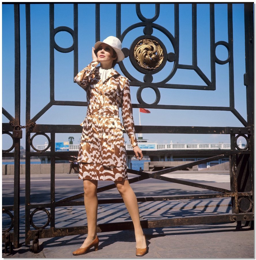 sovietfashion16 Советская мода 1960 х, 1970 х и 1980 х годов в фотографиях ЛенТАСС