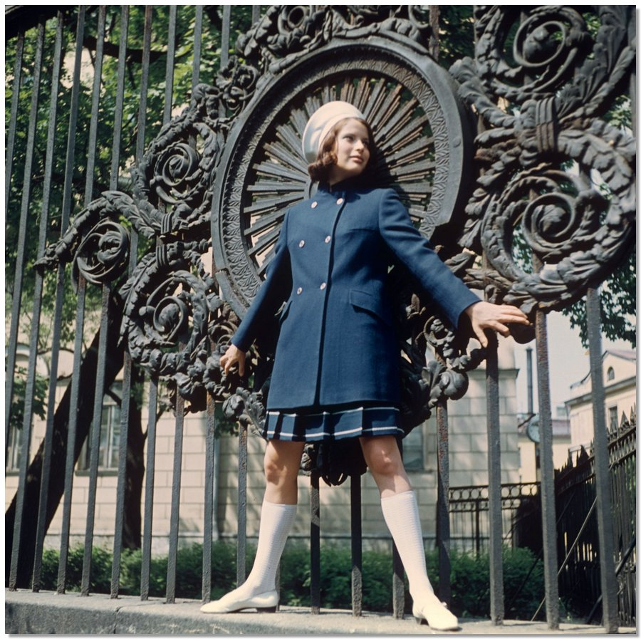 sovietfashion18 Советская мода 1960 х, 1970 х и 1980 х годов в фотографиях ЛенТАСС