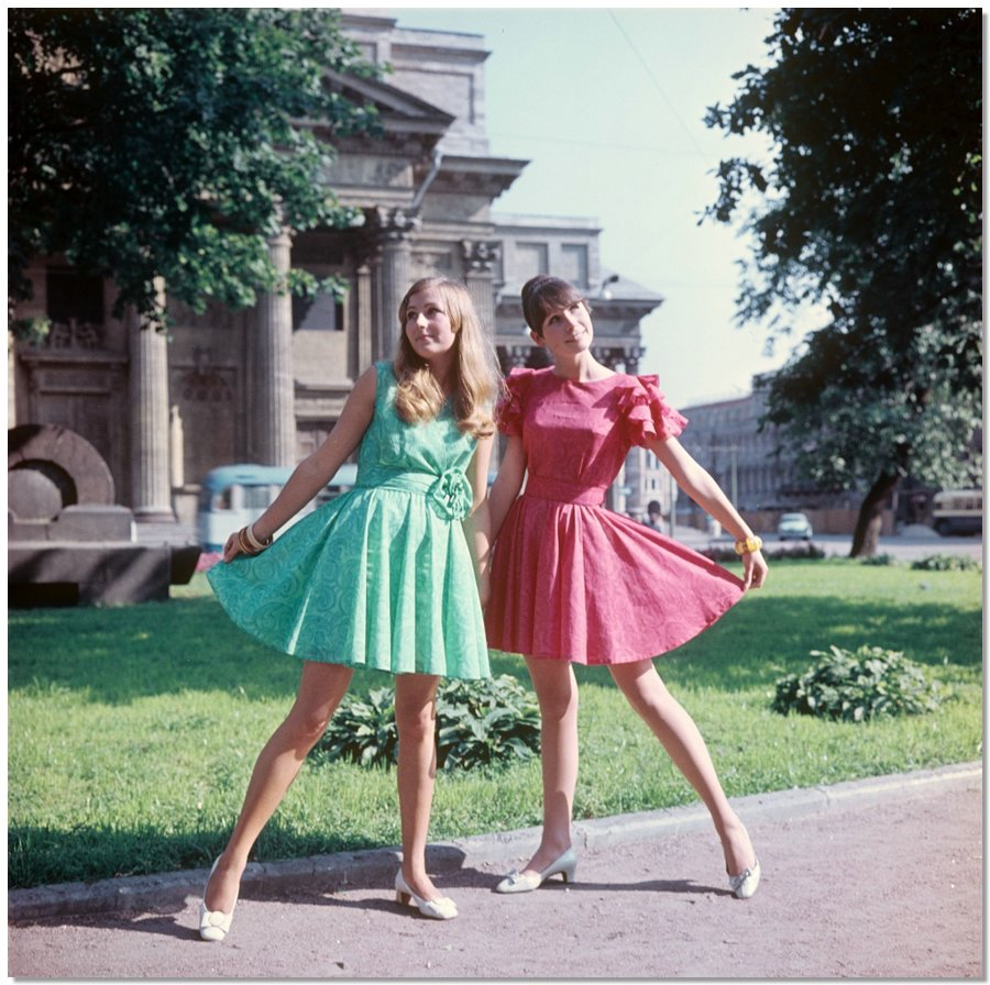 sovietfashion20 Советская мода 1960 х, 1970 х и 1980 х годов в фотографиях ЛенТАСС