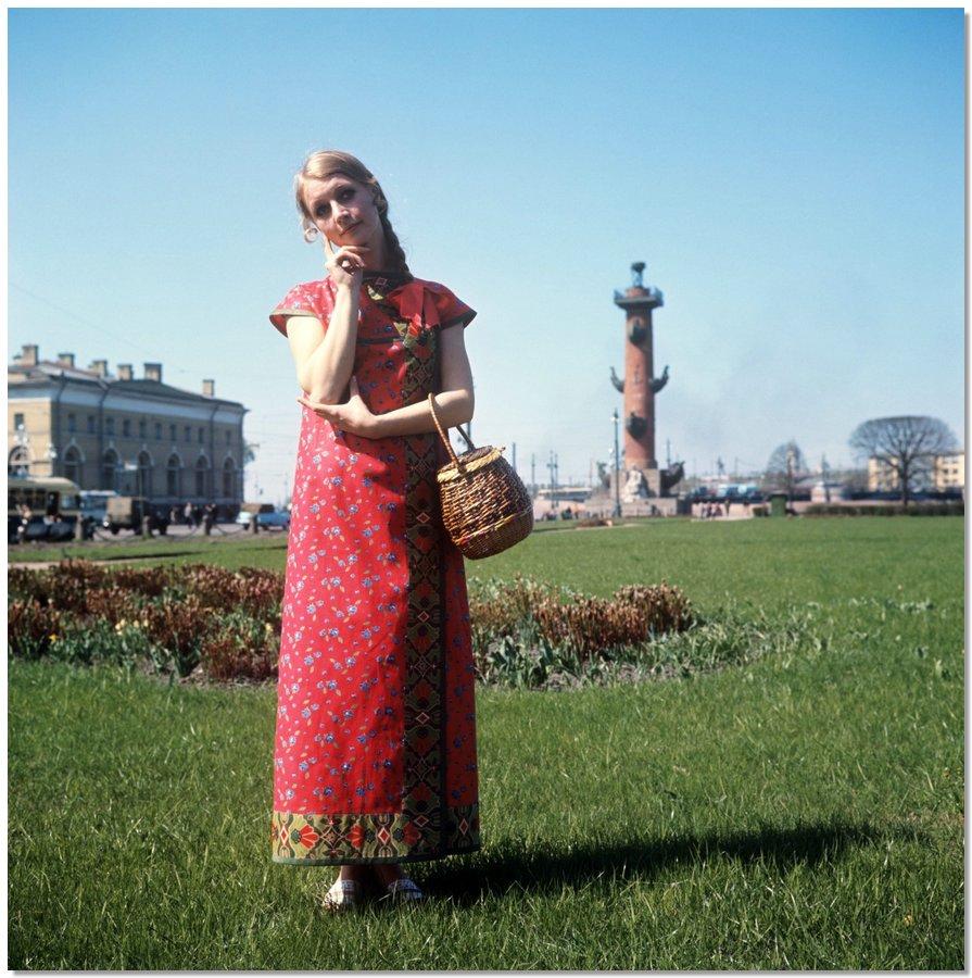sovietfashion22 Советская мода 1960 х, 1970 х и 1980 х годов в фотографиях ЛенТАСС