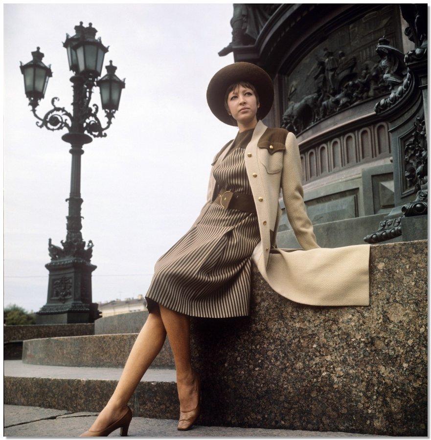 sovietfashion23 Советская мода 1960 х, 1970 х и 1980 х годов в фотографиях ЛенТАСС