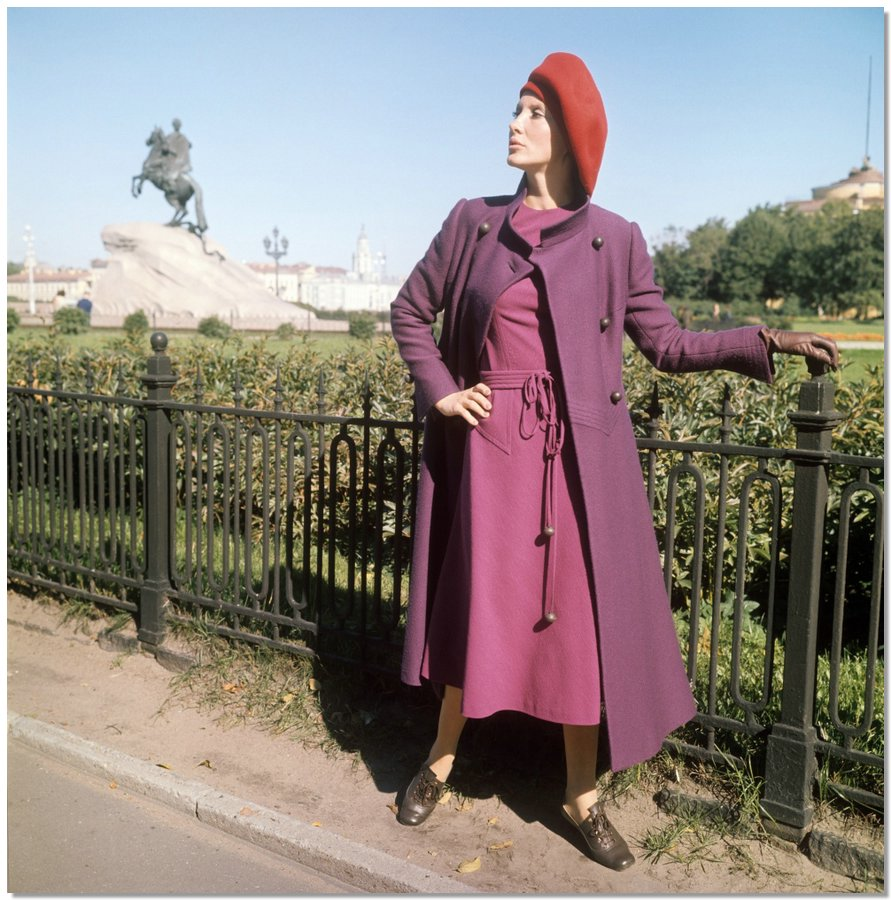 sovietfashion24 Советская мода 1960 х, 1970 х и 1980 х годов в фотографиях ЛенТАСС