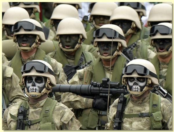 spetsnaz01 Как выглядит спецназ в разных странах