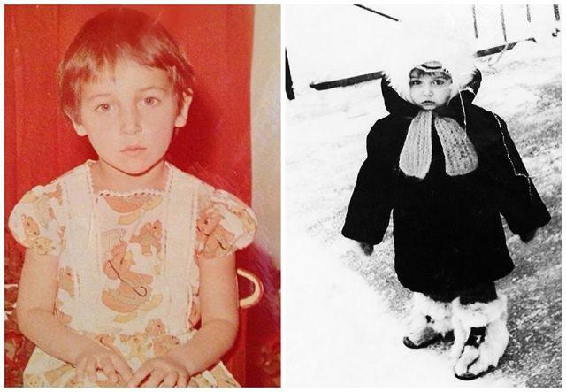 BIGPIC57 Эстафета детских снимков: как звезды выглядели в юном возрасте